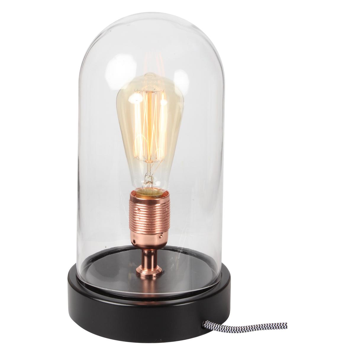 Lampe Globe A Poser Style Industrielle Demeure Et Jardin