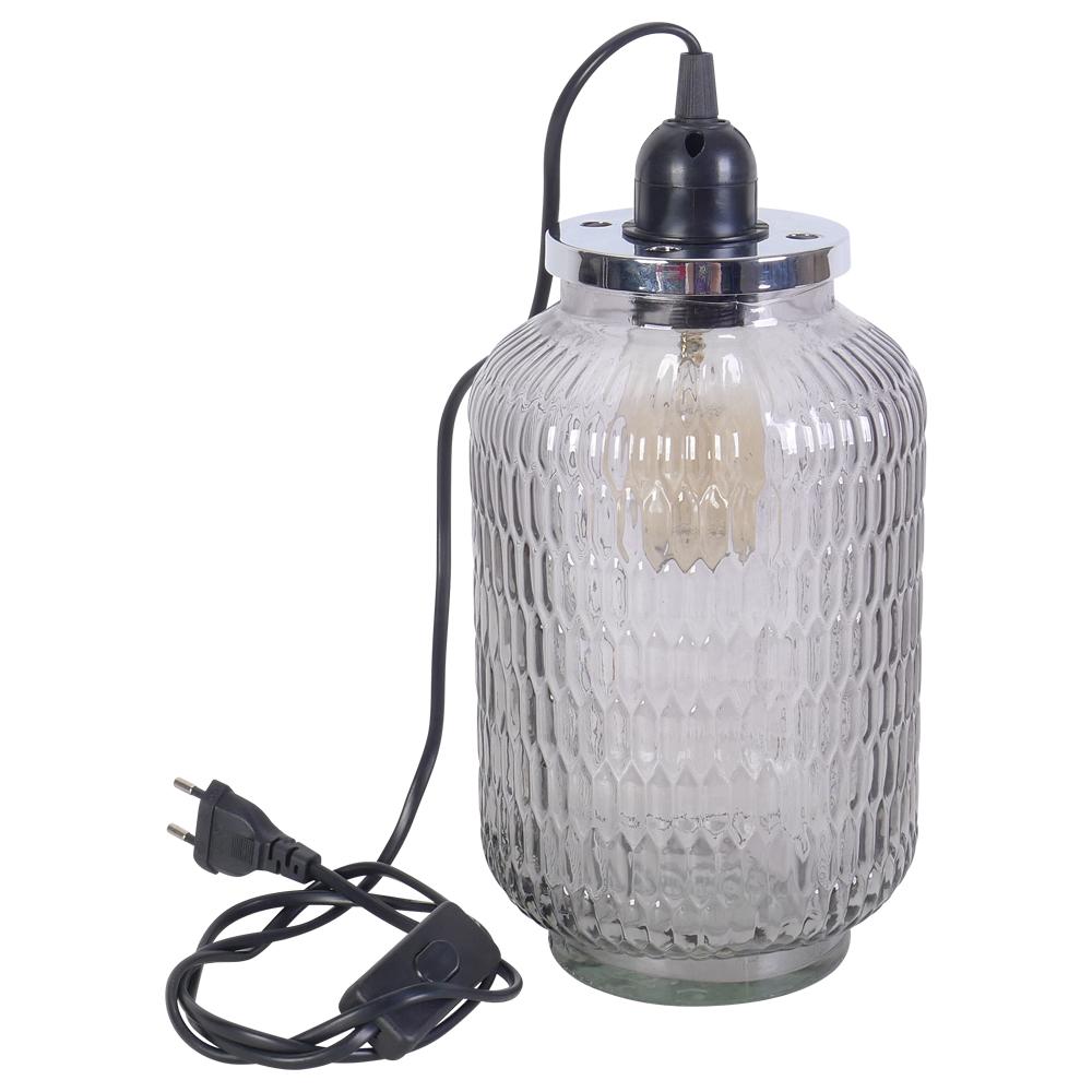 Lampe poser style industrielle demeure et jardin for Lampe a poser style industriel