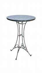 Table Haute de Bar collection vert de gris