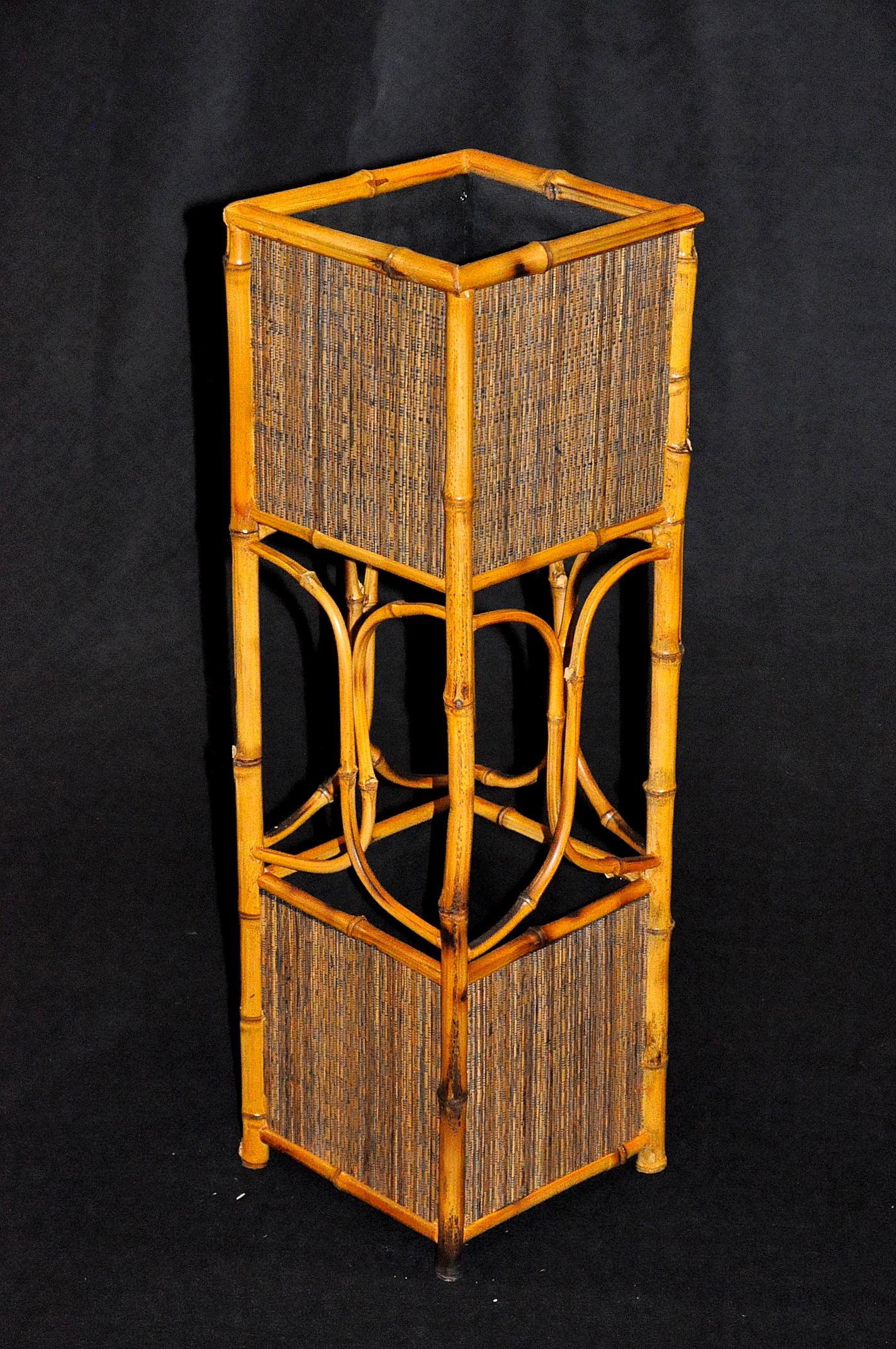 Porte parapluie en bambou demeure et jardin - Porte parapluie exterieur ...