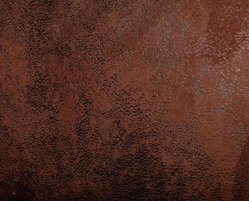 Fauteuil Club en microfibre effet croûte de cuir
