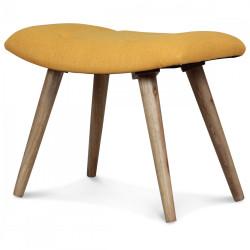 petit tabouret rond style scandinave en bois demeure et. Black Bedroom Furniture Sets. Home Design Ideas