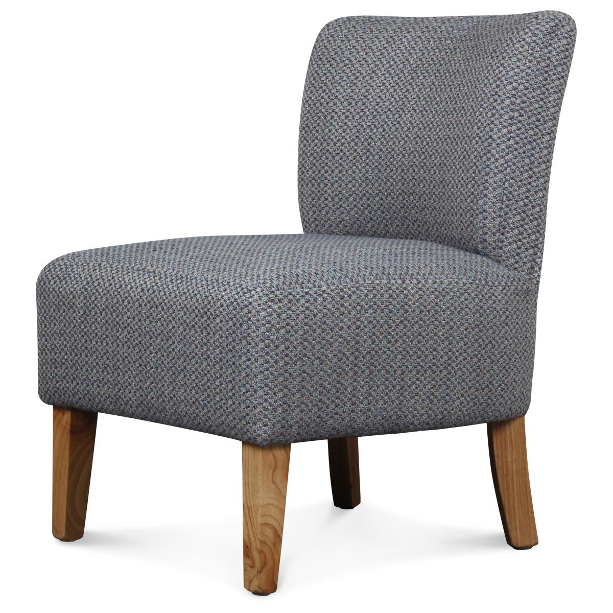 fauteuil crapaud chauffeuse de couleur bleu demeure et jardin. Black Bedroom Furniture Sets. Home Design Ideas