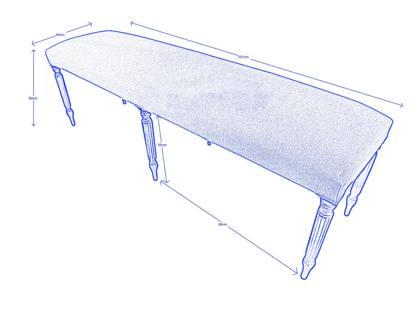 petite banquette bout de lit sur mesure chambord demeure et jardin. Black Bedroom Furniture Sets. Home Design Ideas