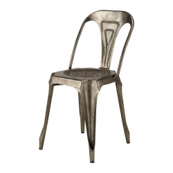 Chaise en métal style Vintage Industriel
