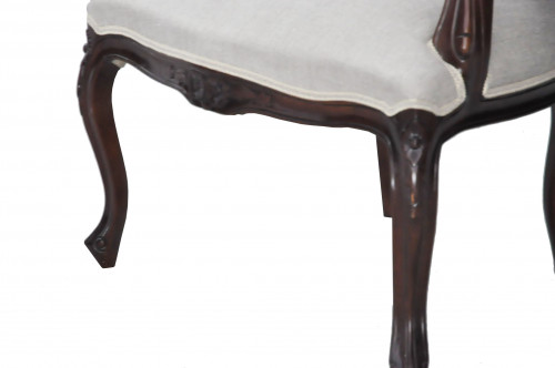 Fauteuil Canné Style Louis XVI