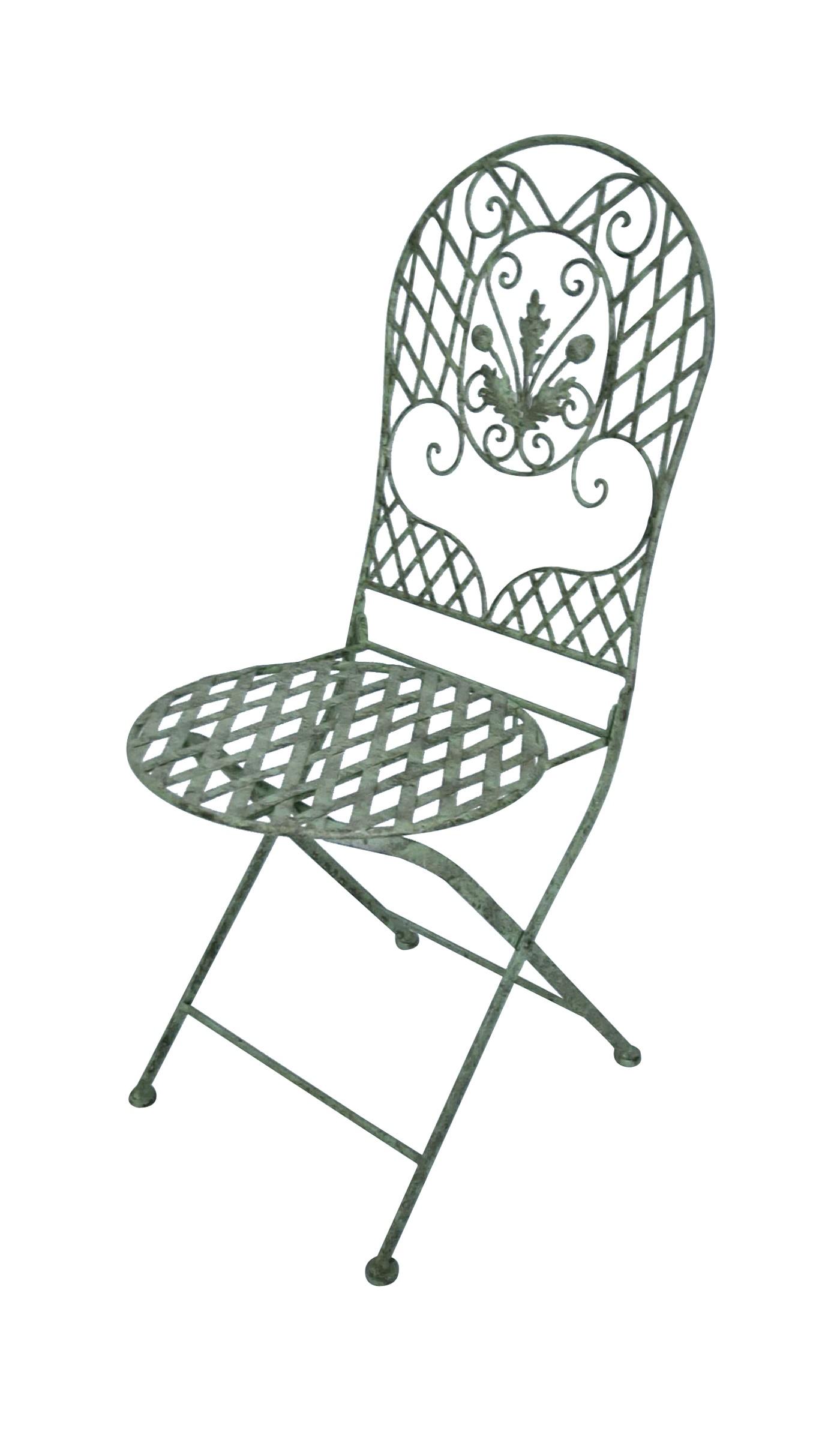 chaise en fer forg collection ch ne demeure et jardin. Black Bedroom Furniture Sets. Home Design Ideas