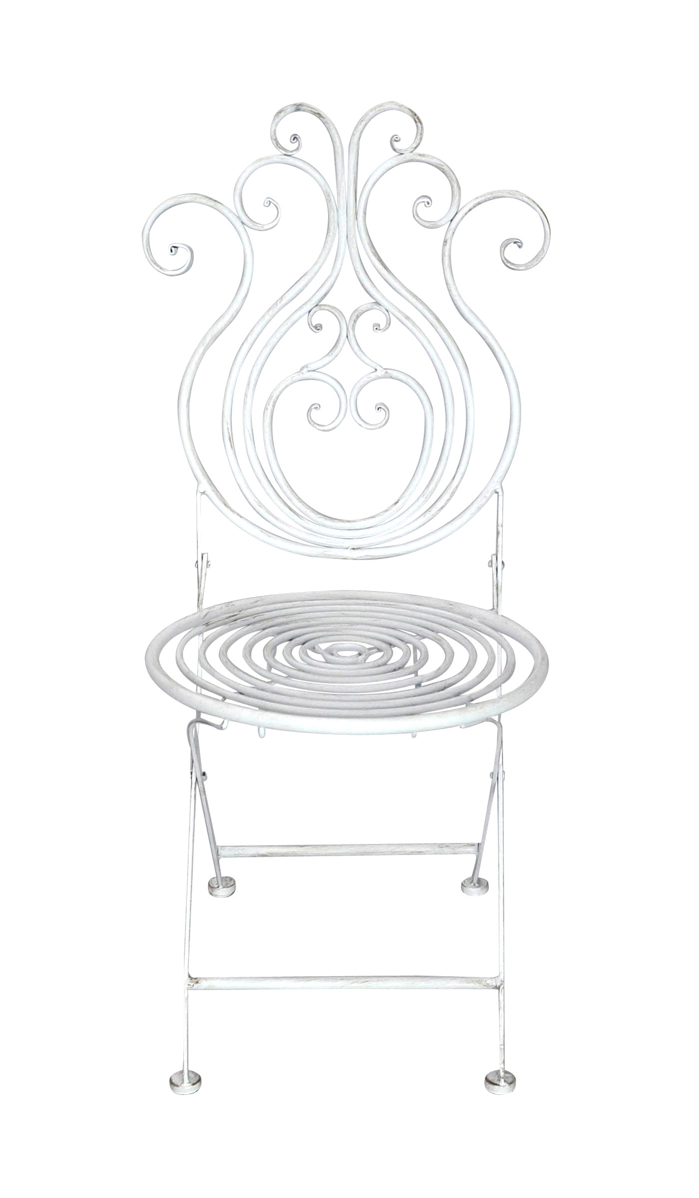 Chaise en fer forg collection paon demeure et jardin for Chaise jardin fer forge