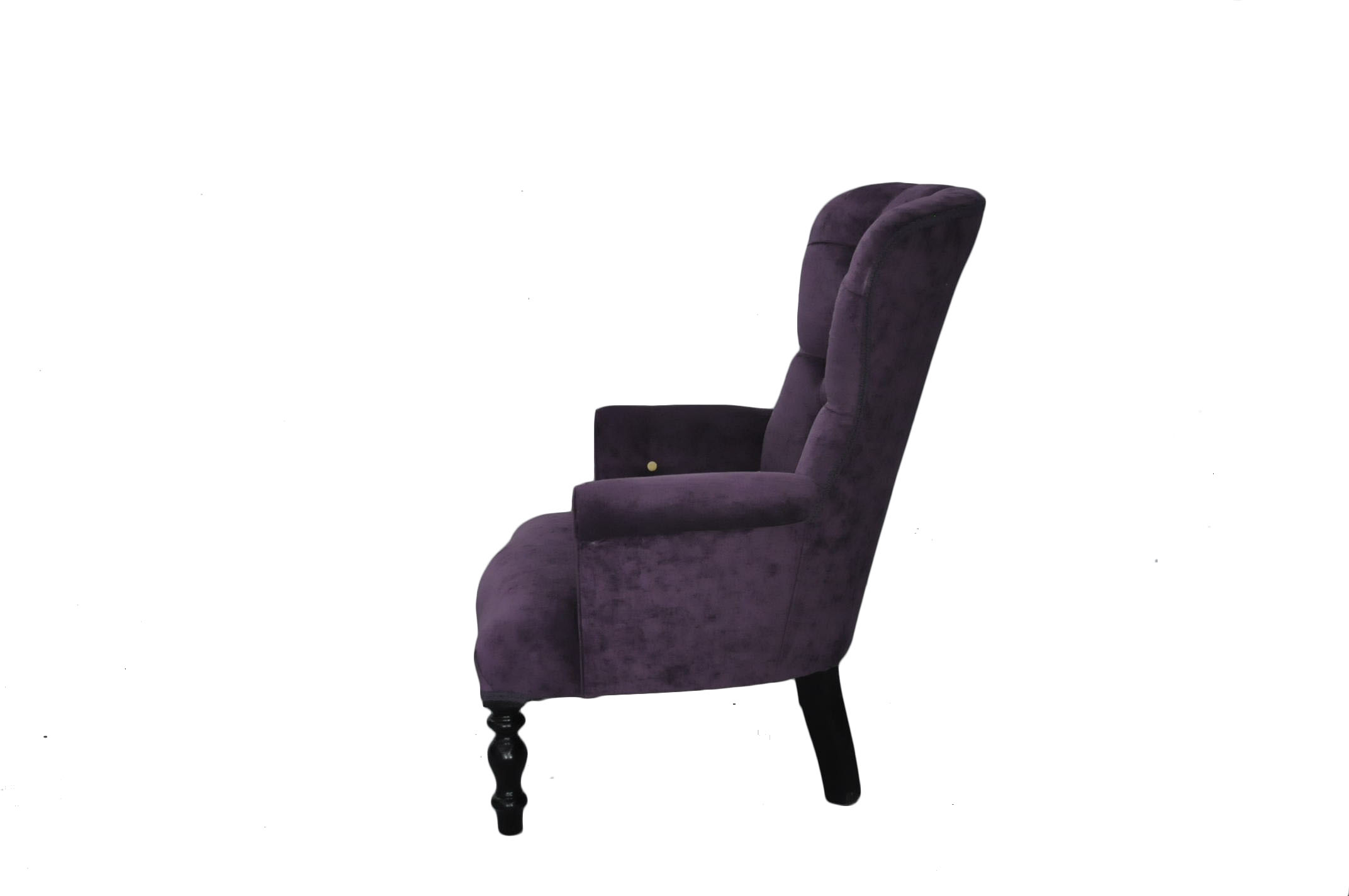 fauteuil velours mauve demeure et jardin. Black Bedroom Furniture Sets. Home Design Ideas