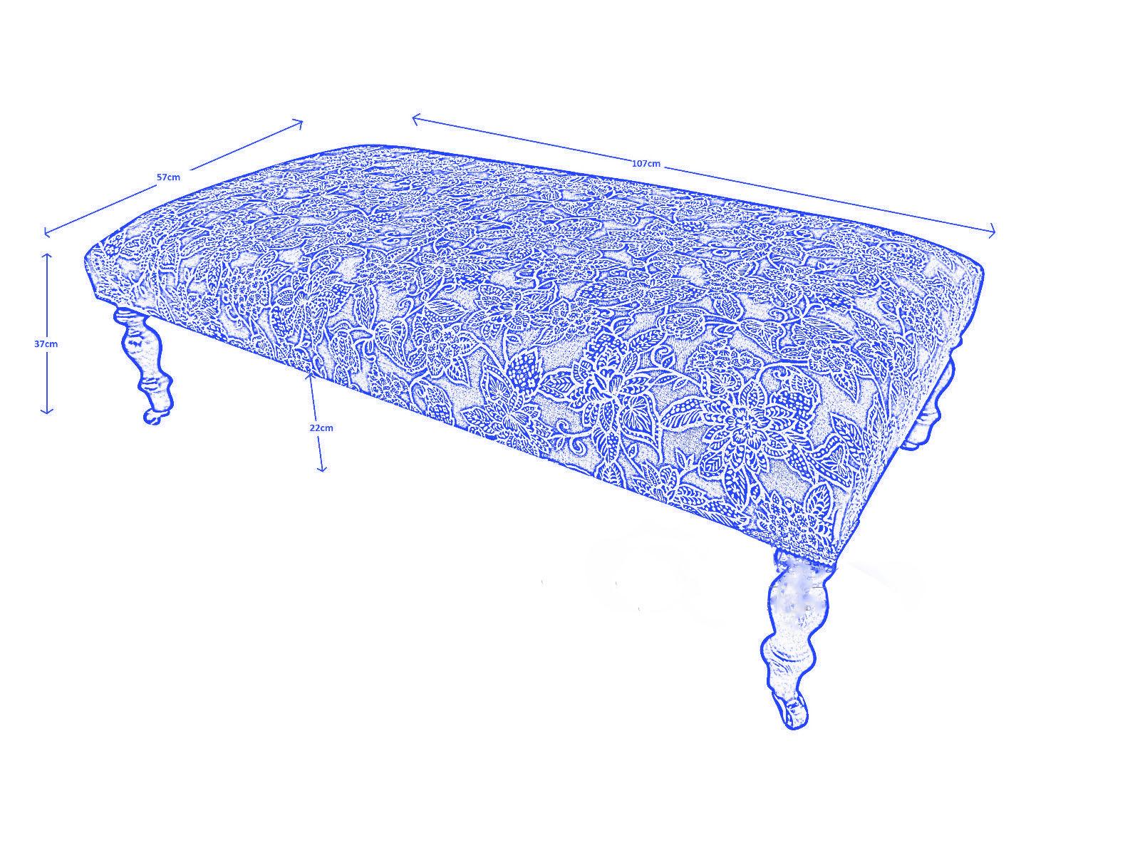 banquette bout de lit victoria sur mesure demeure et jardin. Black Bedroom Furniture Sets. Home Design Ideas