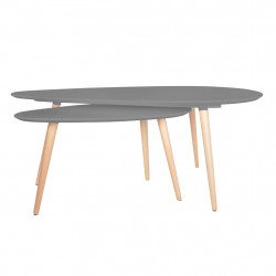 Set de Deux Tables Gigognes Design