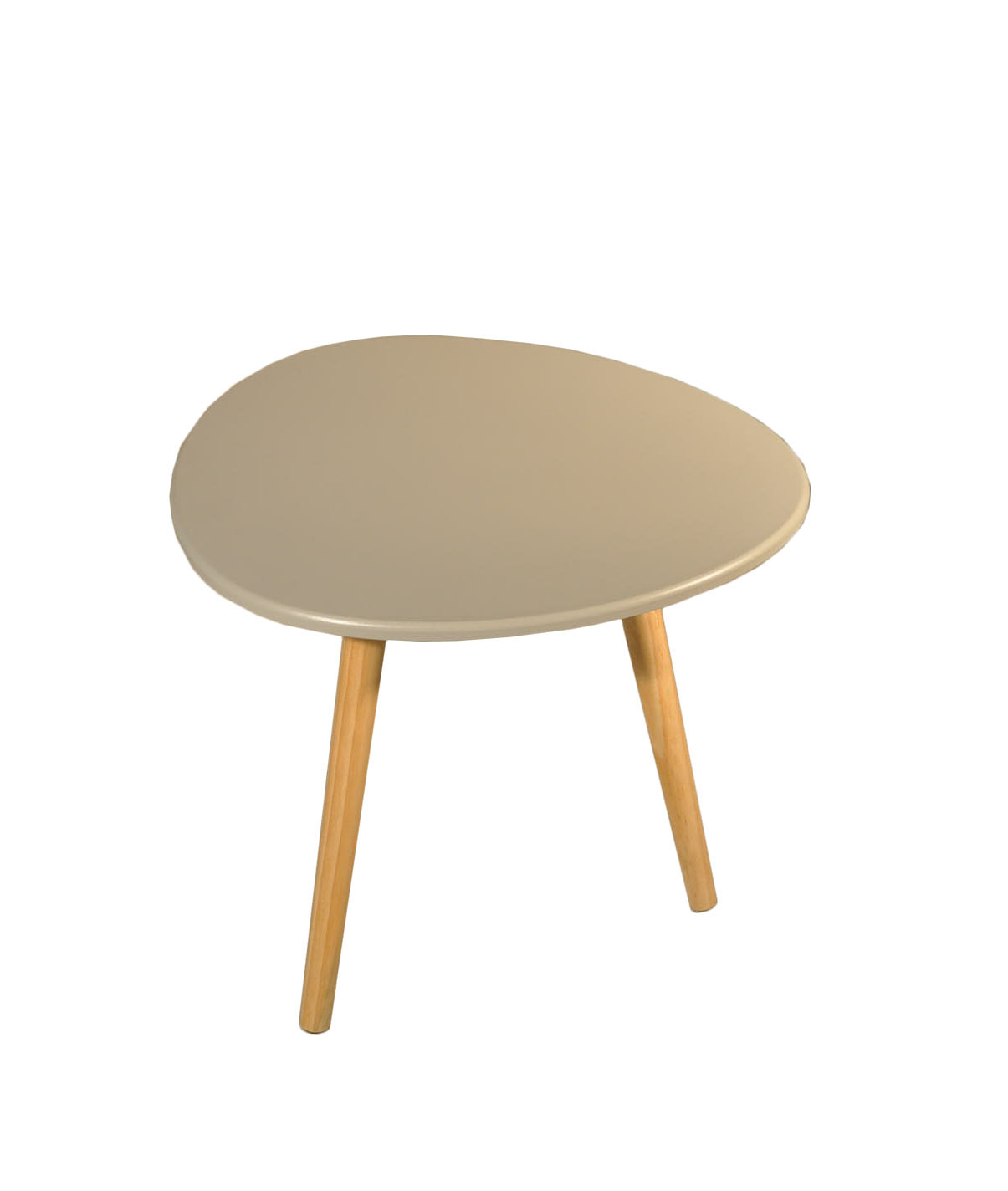 Table basse jaune galet for Table basse grise scandinave