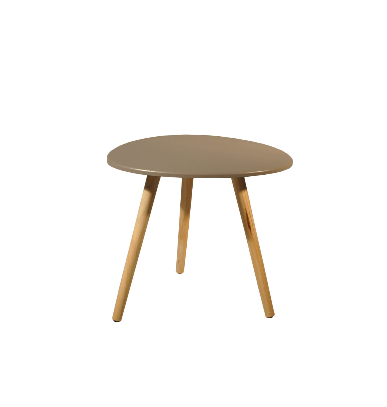 Table basse scandinave taupe for Petite table scandinave