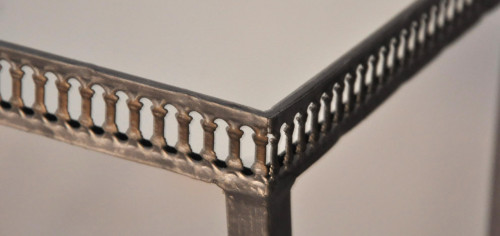 Tables Gigogne fer forge Design miroir