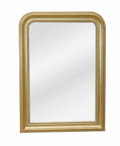 Glace Dorée Style Louis Philippe - 78 x 107 cm