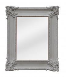Miroir Rectangulaire Patine Grise - 50 x 57 cm