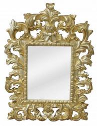 Miroir Baroque Dorée - 38 x 51 cm