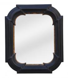 Miroir polylobé rectangulaire - 56 x 66 cm