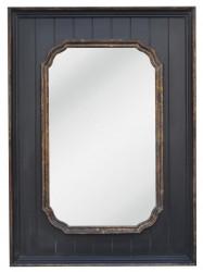 Miroir Contemporain Noir - 80 x 110 cm