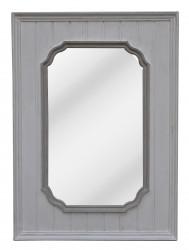 Miroir contemporain avec Boiseries - 80 x 110 cm