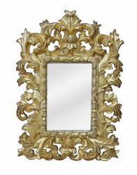 Petit Miroir Baroque Doré - 20 x 29 cm