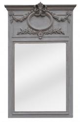Miroir Trumeau de style Louis XVI House Grey - 59 x 102 cm