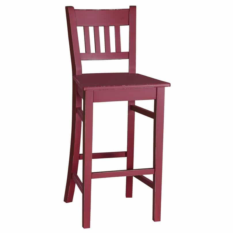 Tabouret de bar ou chaise haute avec dossier incurv - Chaise haute avec dossier ...