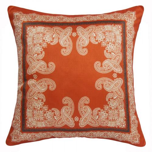 coussin orange demeure et jardin. Black Bedroom Furniture Sets. Home Design Ideas
