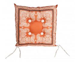 Coussins et galettes la s lection demeure et jardin demeure et jardin - Coussin de chaise orange ...
